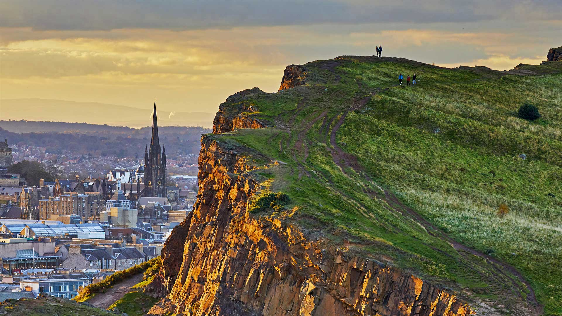 Salisbury Crags in Holyrood Park, Edinburgh, Scotland (? Andrew Merry/Getty Images)