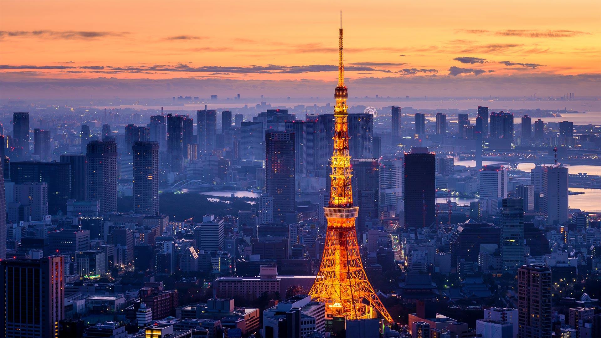 Tokyo Tower, Minato City, Tokyo, Japan (? Yukinori Hasumi/Getty Images)