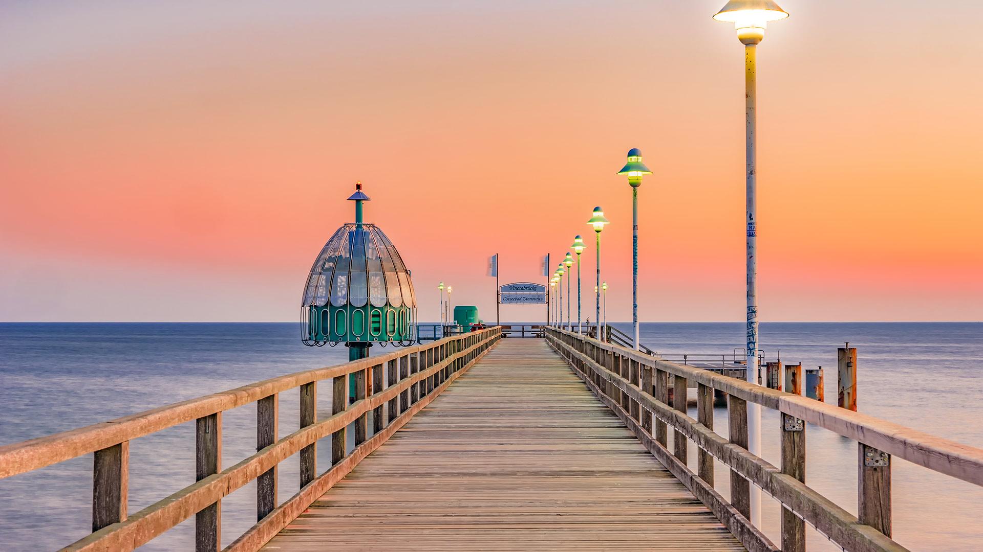 Zinnowitz pier, Usedom island, Germany (? Frank Günther/Getty Images)