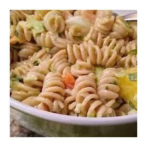 shrimp-mango-pasta-salad-recipe-recipezazzcom image