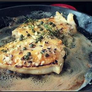 butter-basted-halibut-steaks-with-capers-dish-n-the image