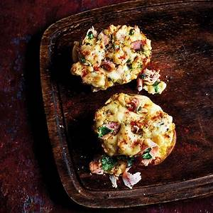 baked-potato-with-cheese-ham-souffl-healthy image