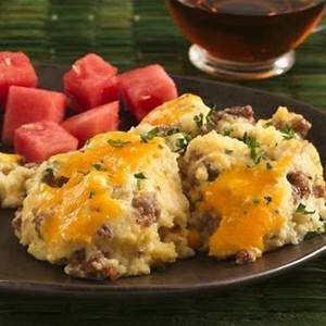 sausage-and-cheese-grits-casserole-makeover image
