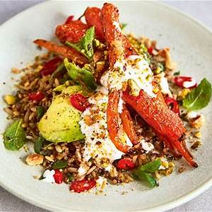 roasted-carrot-and-grain-salad-jamie-oliver image