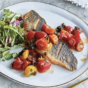 giada-de-laurentiis-pan-seared-branzino-with-tomato-and image