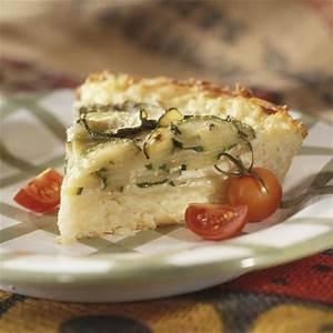 zucchini-and-swiss-pie-recipe-eatingwell image