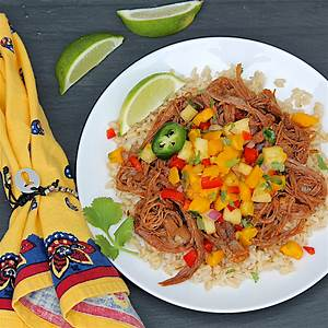 slow-cooker-mexican-flank-steak-the-fountain image