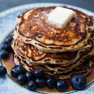 blueberry-buttermilk-pancakes-simply image