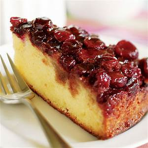 cranberry-upside-down-cake-recipe-finecooking image