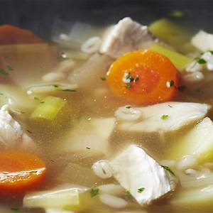 cock-a-leekie-soup-chickenca image