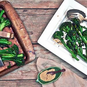 spicy-grilled-broccolini-the-messy-baker image