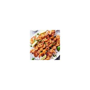grilled-spicy-lime-shrimp-with-creamy-avocado-cilantro image