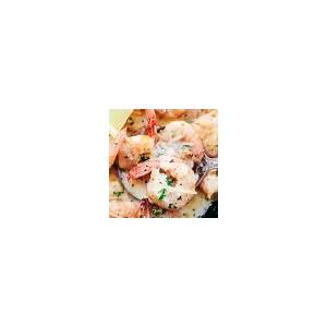 creamy-parmesan-garlic-shrimp-pasta-the-recipe-critic image