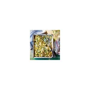 chicken-pasta-bake-recipe-jamie-magazine image