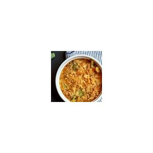 broccoli-casserole-with-ritz-crackers-chicken image