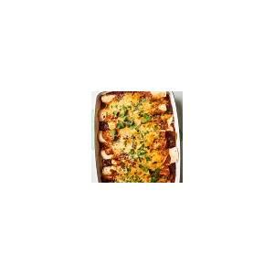 easy-chicken-enchiladas-kitchn image