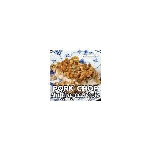 pork-chop-stuffing-casserole-oven image
