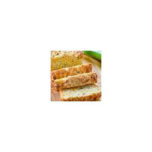 zucchini-cheddar-cheese-herb-beer-bread-serena-bakes image
