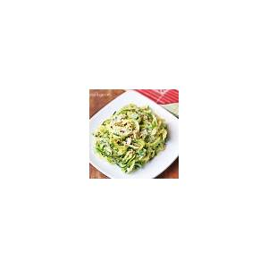 zucchini-noodles-with-butter-and-parmesan-healthy image