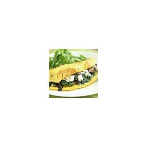 easy-spinach-feta-omelet-ketodiet-blog image
