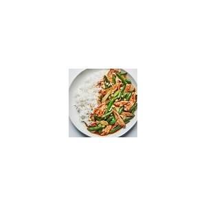 chicken-and-green-bean-stir-fry-recipe-bon-apptit image