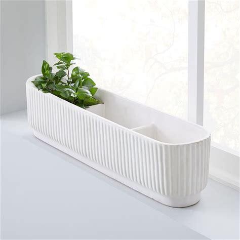 windowsill planter indoor