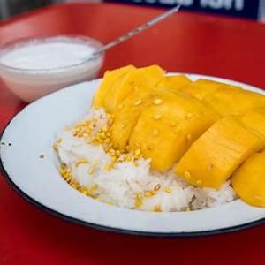 thai-mango-sticky-rice-recipe-authentic-thai-street-food image
