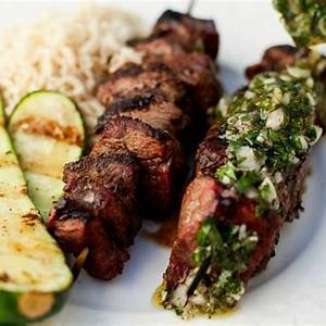argentinian-beef-kabobs-with-chimichurri-sauce image