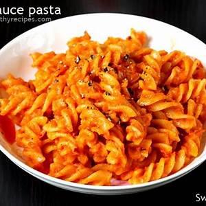 red-sauce-pasta-recipe-swasthis image