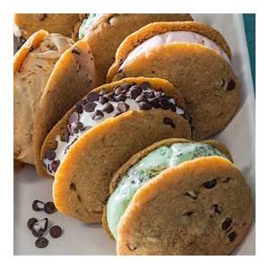 chocolate-chip-cookie-ice-cream-sandwiches-the-splendid image