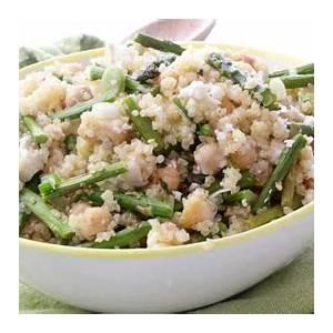 asparagus-quinoa-salad-with-feta-cheese-clean-delicious image