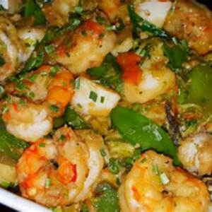 mikes-spicy-garlic-shrimp-scallop-asian-stir-fry-over image