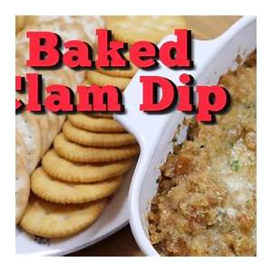 baked-clam-dip-easy-clam-dip-recipe-youtube image