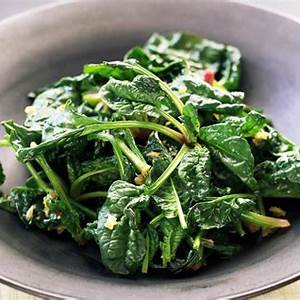 wilted-baby-spinach-with-garlic image