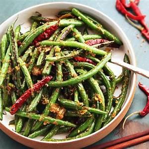 easy-sichuan-dry-fried-green-beans-gan-bian-si-ji-dou image