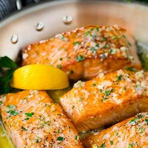 pan-seared-salmon-with-garlic-butter-dinner-at-the-zoo image