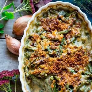 cheddar-green-bean-casserole-healthy-seasonal image