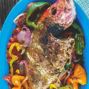 mediterranean-whole-roasted-red-snapper-recipe-the image