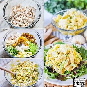 the-best-curry-chicken-salad-easy-family image