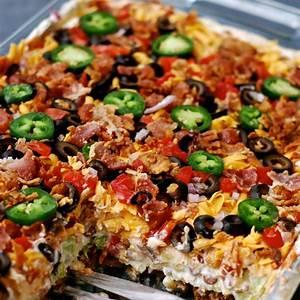 layered-taco-salad-in-a-cake-pan-chindeep image