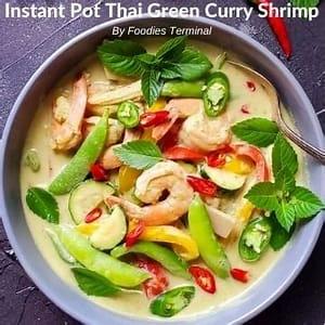 instant-pot-thai-green-curry-shrimp-video-foodies-terminal image
