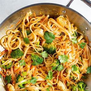 spicy-coconut-curry-chicken-and-rice-noodles image