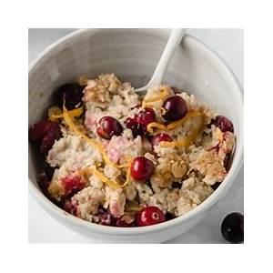 baked-oatmeal-with-cranberries-zesty-orange image