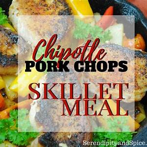 chipotle-pork-chops-recipe-one-dish-meal image