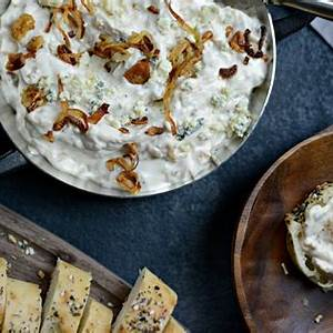 caramelized-shallot-and-blue-cheese-dip-simply-scratch image