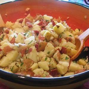 warm-german-potato-salad-with-beer-dressing image