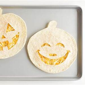 fun-and-easy-jack-o-lantern-cheese-quesadillas-one image