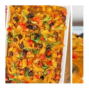 easy-taco-casserole-recipe-weeknight-dinner-dinner image