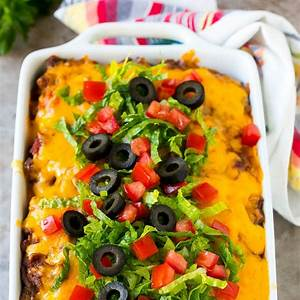 taco-casserole-recipe-dinner-at-the-zoo image