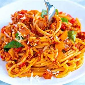 easy-weeknight-spaghetti-with-meat-sauce image